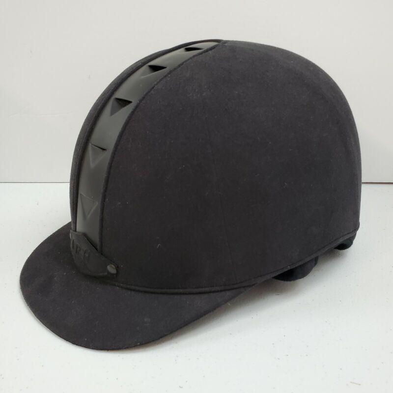 International Riding Helmet  SEI Certified Model Black Velvet