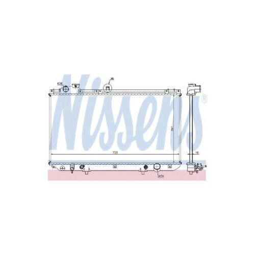Genuine Nissens Engine Cooling Radiator - 64762