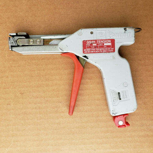 PANDUIT GS4H Cable tie wrap installation tool.