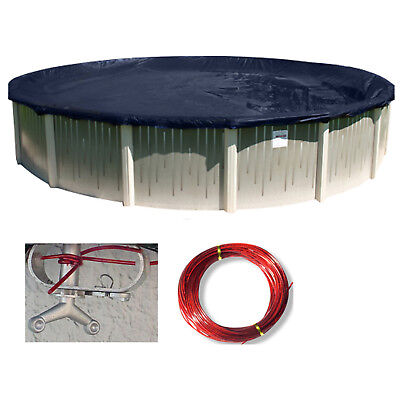 Buffalo Blizzard 18' Round Deluxe Above Ground Swimming Pool Winter Cover
