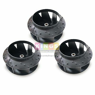 3pk Quality Blower Fan For Huebsch Speed Queen Ipso Dryer  70359801p