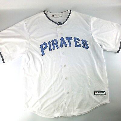 Pittsburgh Pirates MLB 2017 Majestic Cool Base Father's Day Baseball (Day Baseball Jersey)