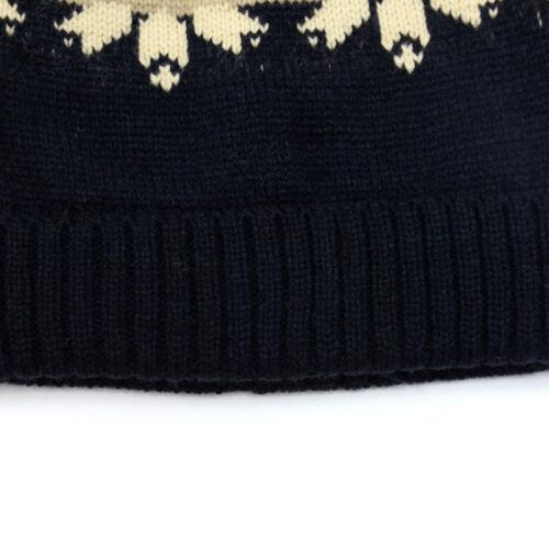 Clearance Dasein Women Men Winter Thick Slouchy Jacquard Snowflake Cute Cap Hat