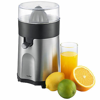 VonShef Citrus Fruit Juicer Electric - Press Juice Extractor - 85W