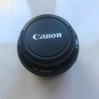 Canon 50mm EF f/1.8 Portrait Lens MUST SELL!