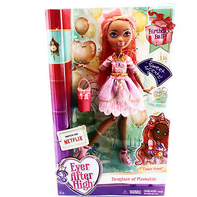 Ever After High Cedar Wood Doll Birthday Ball EAH Pastry Scented Toys Girls 6 7