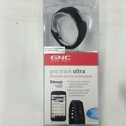 Bluetooth Pedometer GNC Pro Track Ultra Activity Tracker Band for smartphones