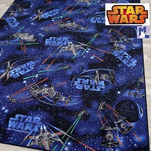 Tapis de jeu star wars vaisseaux spatiaux toiles galaxies en plusieurs tailles - Tapis de sol star wars ...