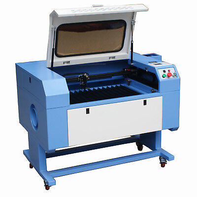 60w Co2 Laser Cutting Engraving Machine 700 X 500mm Chiller Usb High Precision