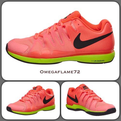 Nike Zoom Vapor 9.5 Tour 631458-600 UK 8, EU 42.5, USA 9, Federer Tennis Shoe
