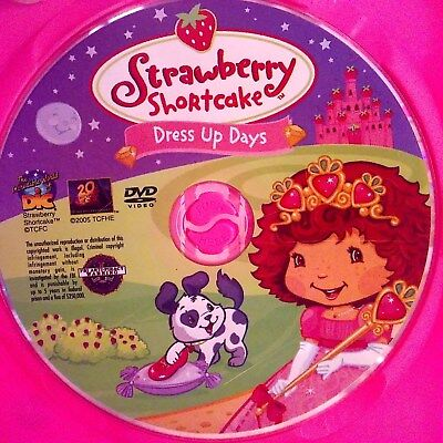 Strawberry Shortcake - Dress Up Days (DVD) Disc Only! No case. - Movies Dress Up