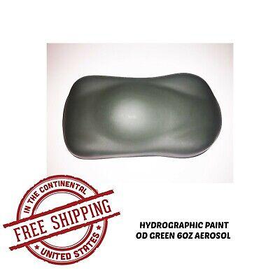 Hydrographic Film Hydro Dip Kit 6oz Aerosol Paint Od Green