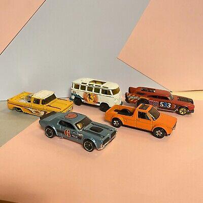 hot wheels job lot Of 4 Models Plus One Matchbox Volkswagen Camper And Caddy!