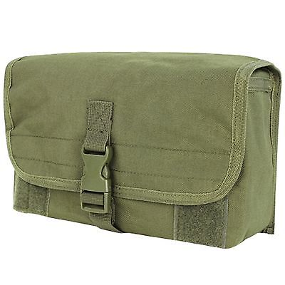 NEW Condor MA11 Tactical MOLLE Utility Web PALS Modular Gas Mask Pouch OD Green