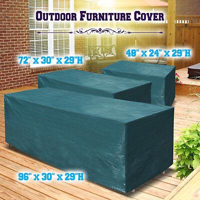 Patio Garden Outdoor Furniture Winter Cover Rectangular Table/Chair Waterproof ()