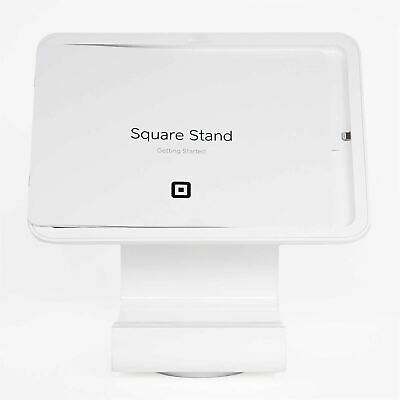 New Square Stand For Contactless And Chip Complete Point Of Sale In White