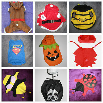 Hunde-Kostüm Halloween Weihnachten Kostüm für Hunde Dog Helloween ()