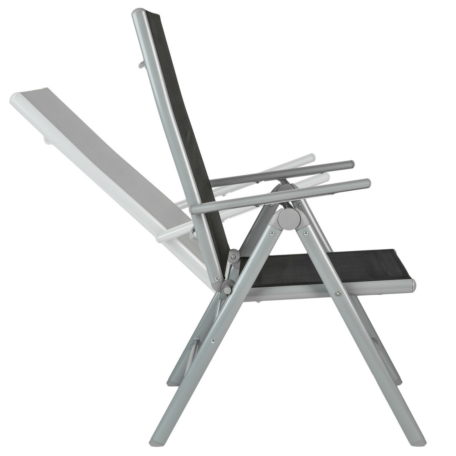Aluminio conjunto muebles de jardin 4 1 silla adjustable for Sillas jardin aluminio baratas