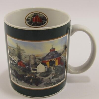 Meadowbrook Farm Lang and Wise Mug Vintage Coffee Cup Barn Country Horse Meadowbrook Farm