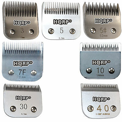 Animal Clipper Blade For Andis Ag Ag2 Agc Agc2 Mbg Series Pet Grooming  7 Sizes