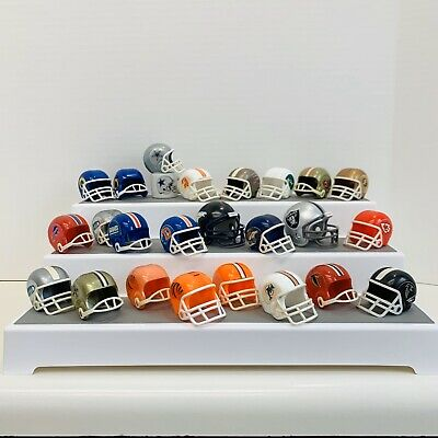Vintage Gumball Machine Mini Football Helmets Lot of 24