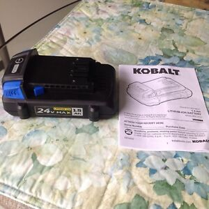 Kobalt 1.5AH Lithium-ion Battery