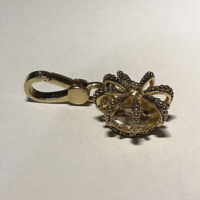 Juicy Couture Gold Tone J Crown Charm - Really Pretty! Juicy Couture Crown Charm
