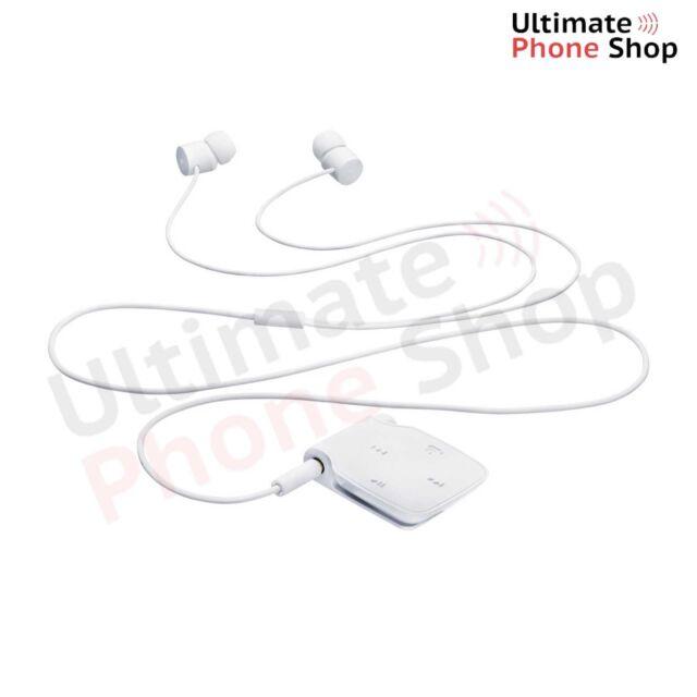 Genuine Nokia BH-111 Universal Bluetooth Headset Headphone White - Brand New