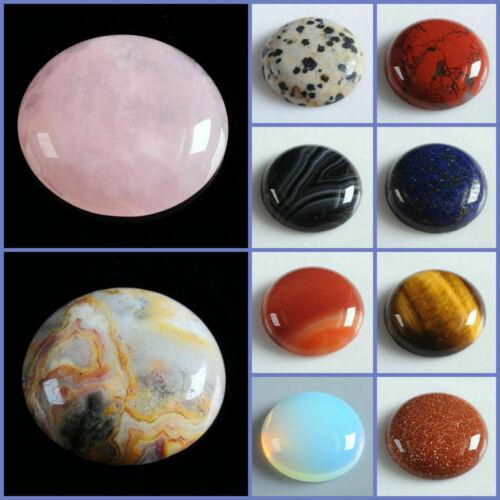 Wholesale 25mm Round cabochon CAB flatback semi-precious gemstone Save $ in bulk