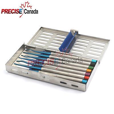 Or Grade X7 Dental Pdl Elevator Proximators Root Extracting Dental Set
