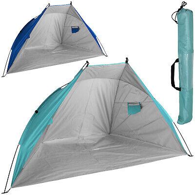 Strandmuschel Windschutz Sichtschutz UV Sonnenschutz Garten Strand Zelt UPF 50+