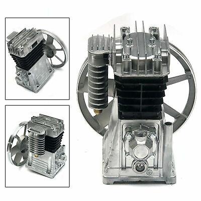 2hp Piston Type Twin Cylinder Air Compressor Pump Motor Head Tool 175lmin 1.5kw