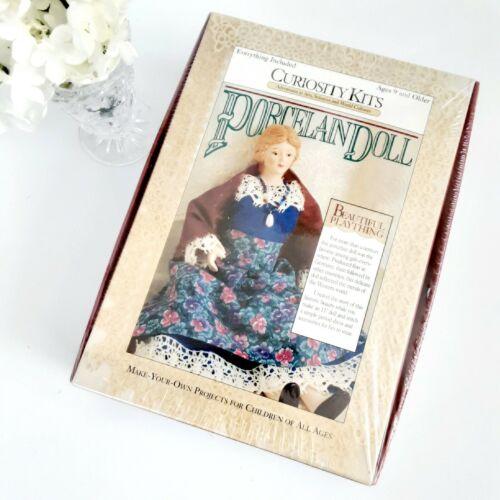 Porcelain Doll Kit Complete Curiosity Kit USA Made VTG 1995 New In Sealed Box