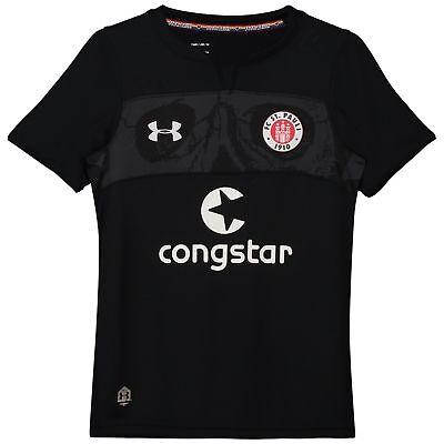 Offiziell St Pauli Third Shirt Fußball Trikot Oberteil 18/19 Kinder Under Armour