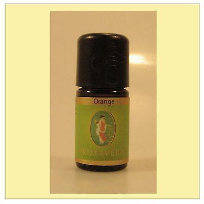 Primavera Orange Öl 100% naturreines ätherisches Orangenöl 5 ml