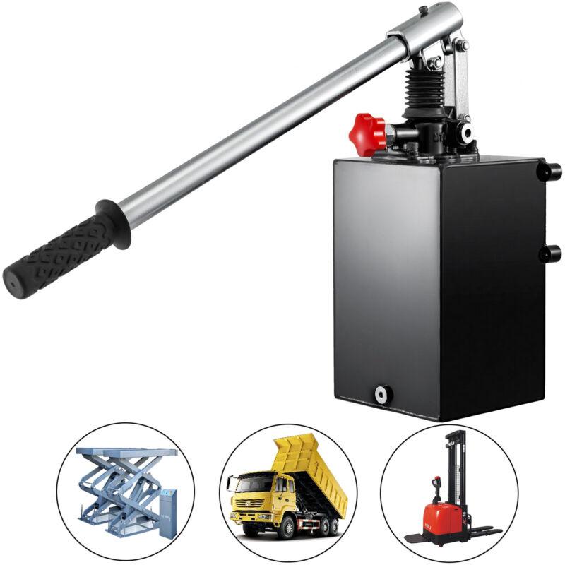 Hydraulic Power Unit Hydraulic Pump Hand Pump Double Acting 5L Lift Unloading