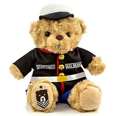 Marine Dress Blues Teddy Bear Military Plush Toys Plush Kids Sgt Sleeptight  (Baby Marine Dress Blues)