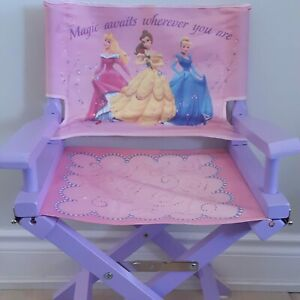 Disney Princess Folding Director's Chair