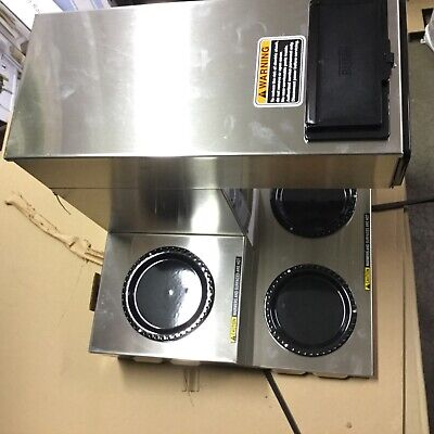 Bunn 12 Cup Automatic Commercial Use Coffee Maker With 3 Warmers - Cwtf15 D646