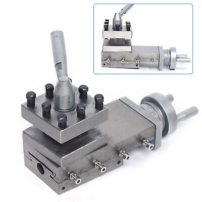 Lathe Tool Holder Bench Lathe Wm180v Tool Slide Compound With Square Tool Turret