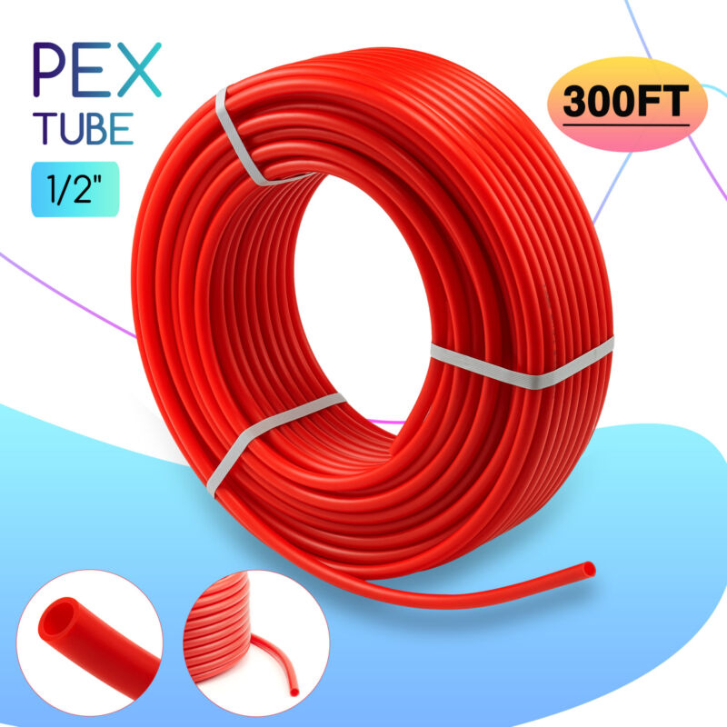 1/2 in. PEX Pipe 300ft PEX Tubing PEX Tube for Water Radiant