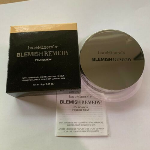 Bareminerals Blemish Remedy Foundation - Clearly Pearl 02 , 0.21 Oz / 6 g