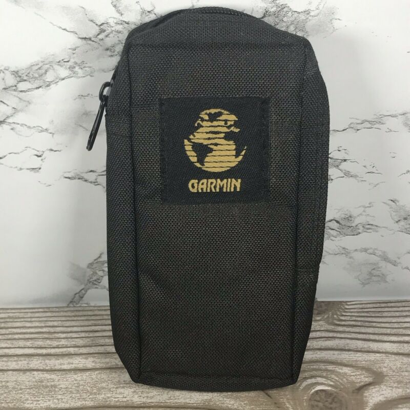 Vintage Garmin Vertical GPS Soft Case with Zipper and Bet Loop