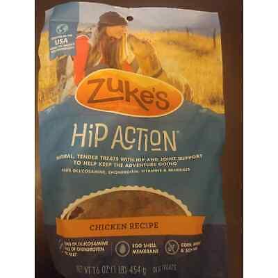 Zuke's Hip Action Chicken Dog Treats 16oz