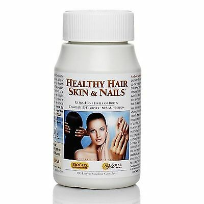 Andrew Lessman Healthy Hair  Skin   Nails   100 Capsules  Hsn Procaps Labs