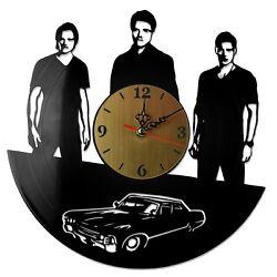 NEW  Vinyl Record Wall Clock Supernatural #1, modern decorative art ~ 12