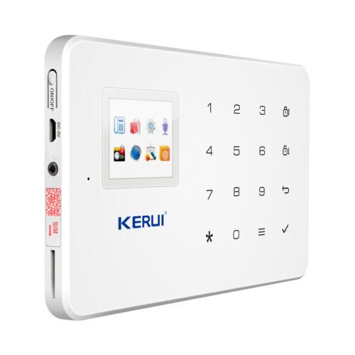 Kerui G18 Wireless GSM SMS Android IOS APP Home Burglar Security Alarm System