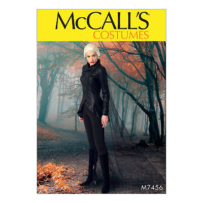 McCall's 7456 Sewing Pattern to MAKE Jacket, Stirrup Leggings and Cape - Cosplay