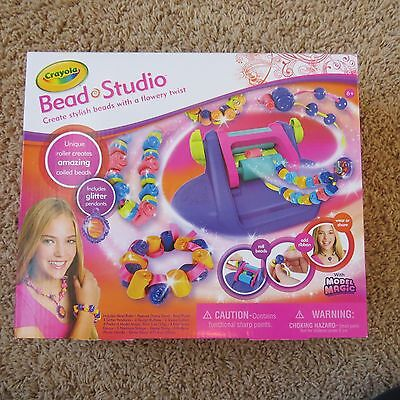 New! Crayola Bead Studio - Create Beads with a Flowery Twist  - Ages 8+