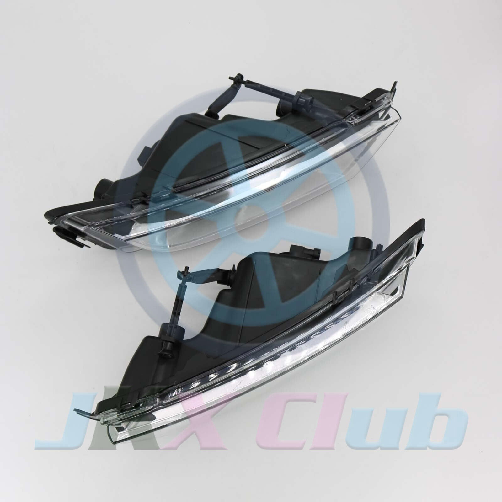 1pair Bumper Fog Light Fog Lamp With Bulb H For Skoda Octavia Mk3 A7 2013 2016 Ebay